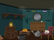 Play Scary Halloween House Escape 4 game