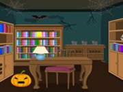 Play Scary Halloween House Escape 3 game
