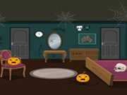 Play Scary Halloween House Escape 6 game