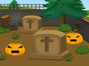 Play Scary Halloween House Escape 5 game