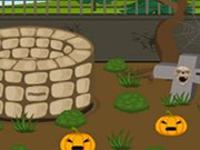 Play Scary Halloween House Escape 1 game