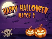 Play Happy Halloween Match 3 game