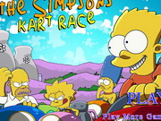 Play The Simpsons Kart Race game