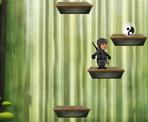Play Nija power Jump game