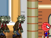 Spiderman Zombie Run Game