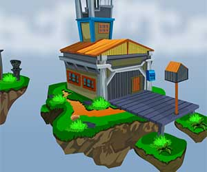 Play Floating Island escape 2 game