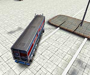 Play Skill 3D Parking: Thunder Trucks game